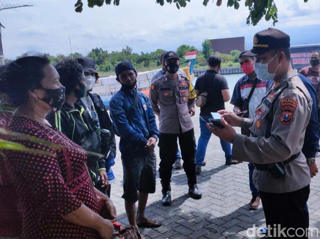 Polisi Gagalkan Empat Pemudik Lewat Jalur Tikus ke Pulau Sapeken