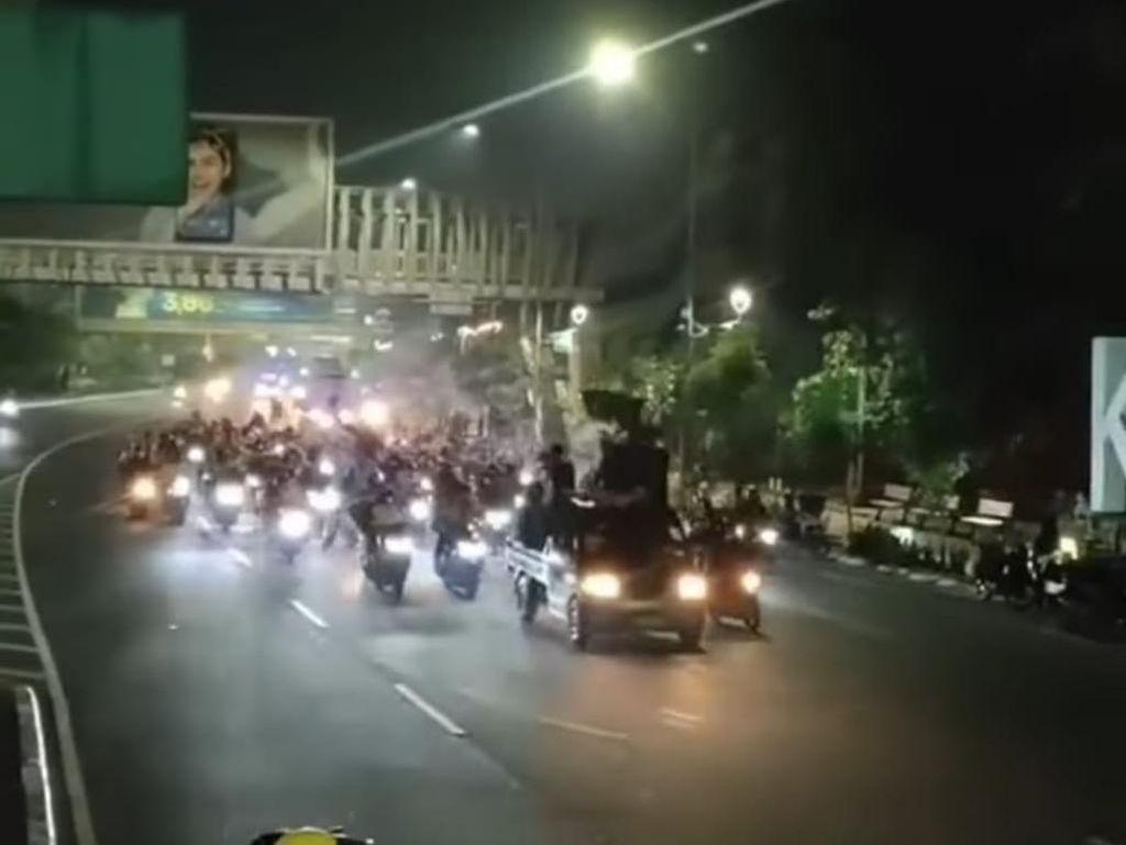 Viral Massa Motoran Pawai SOTR di Bekasi, Polisi Perketat Patroli