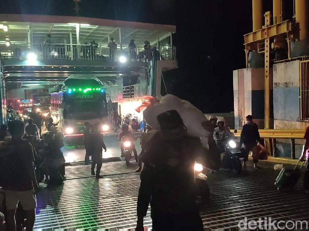 Pemudik Tiba di Pelabuhan Bajoe Sulsel Meningkat 100 Persen Hari Ini