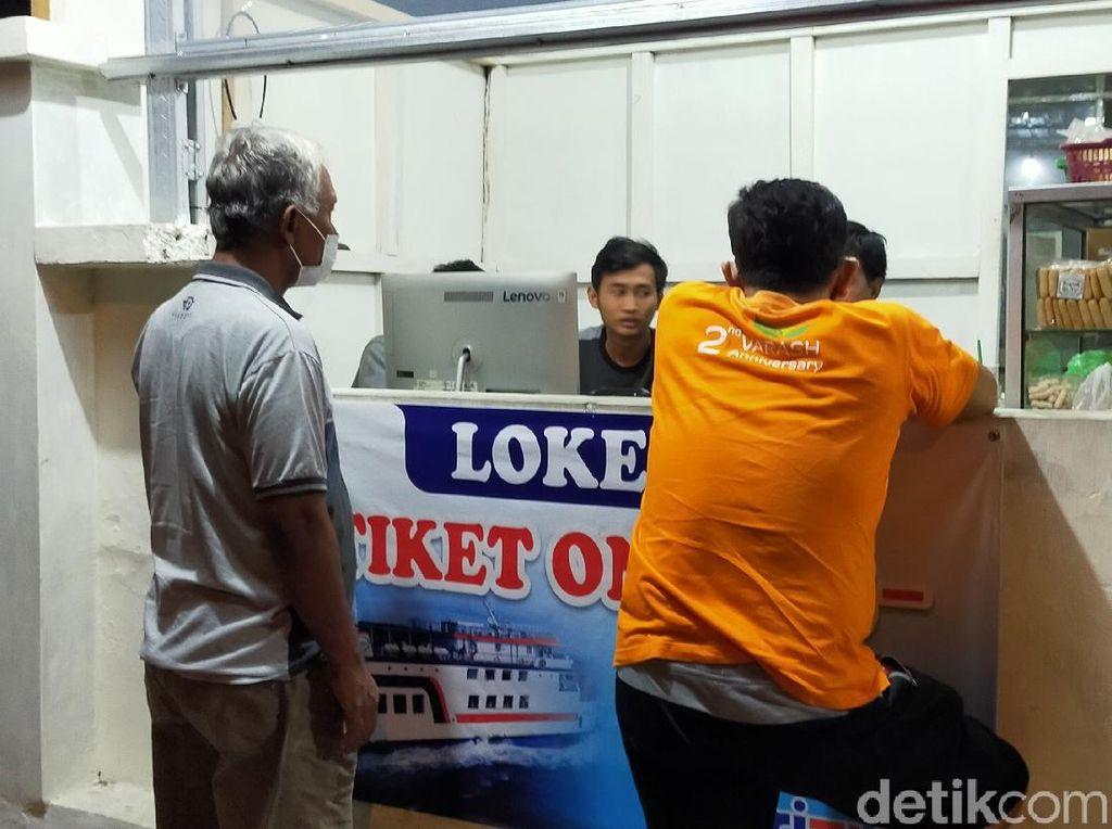 Larangan Mudik, PT ASDP Banyuwangi Hapus Sejumlah Item Tiket Online