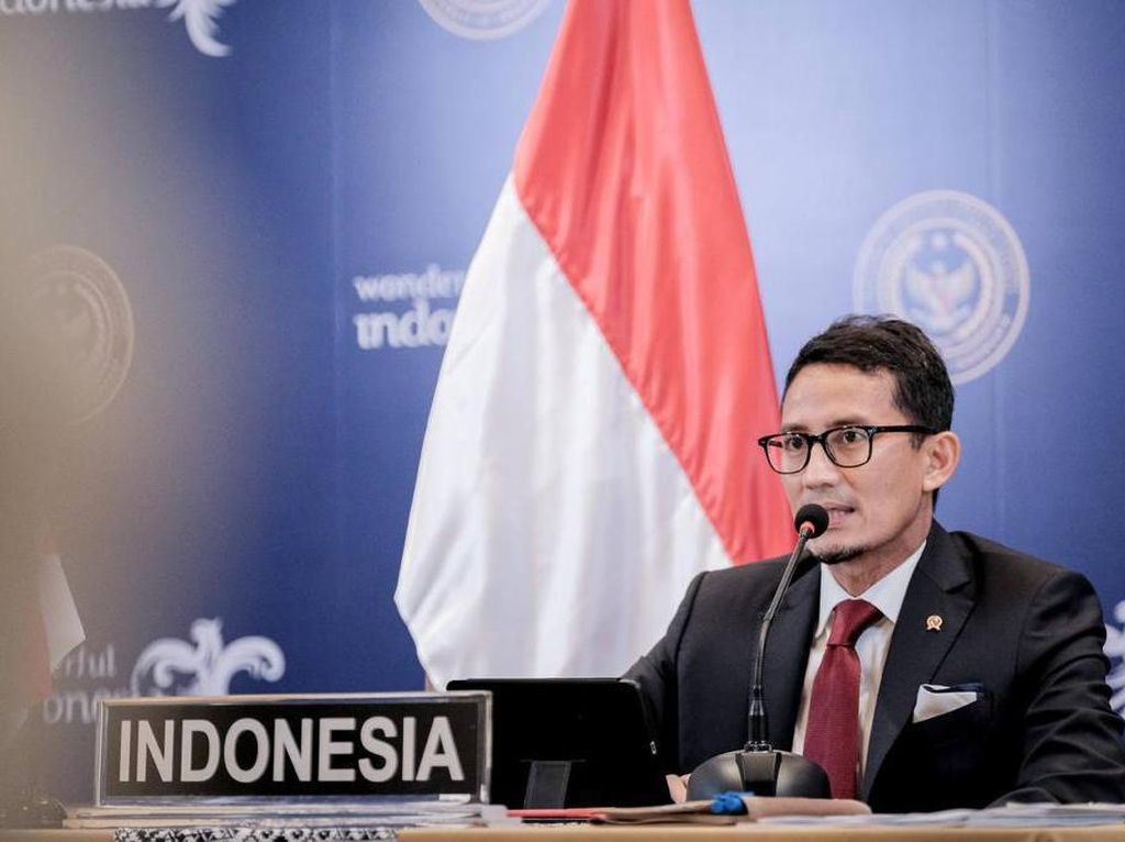 Buka G20 Tourism Ministers Meeting 2021, Sandiaga:  Semangat dan Optimis