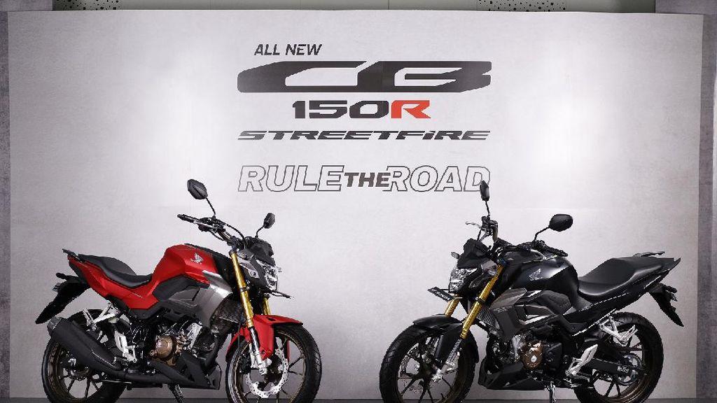 Tampilan Moge Look Honda CB150R Terbaru Seharga Rp 29,7 Juta