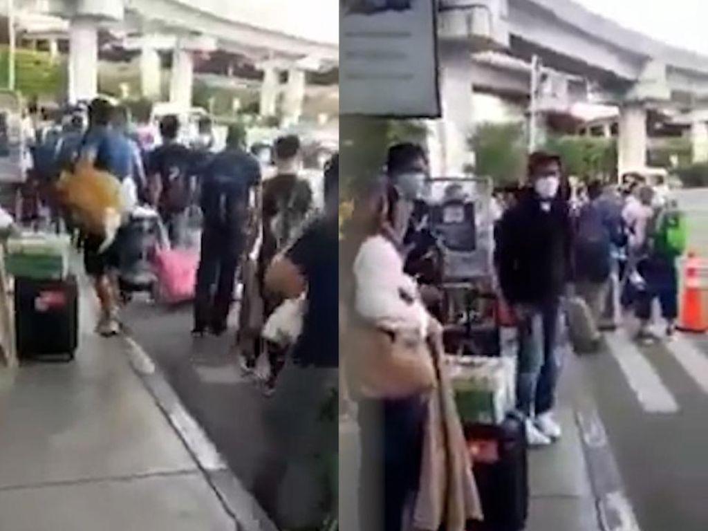 Penjelasan Imigrasi Soal Video Viral WNA China Tiba di Bandara Soetta