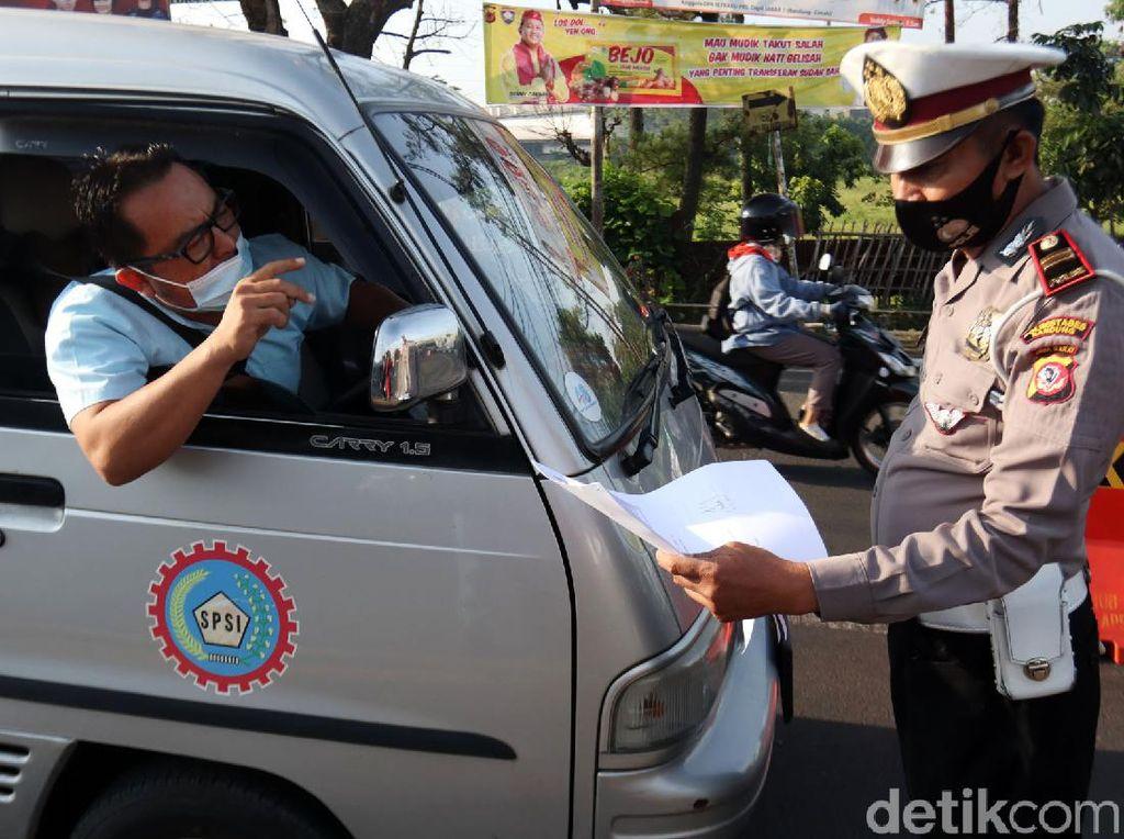 2 Hari Larangan Mudik, Ridwan Kamil: 22 Ribu Kendaraan Diputar Balik