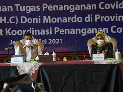 Terima Doni Monardo, Pj Gubernur Jambi Jelaskan Penanganan COVID-Karhutla