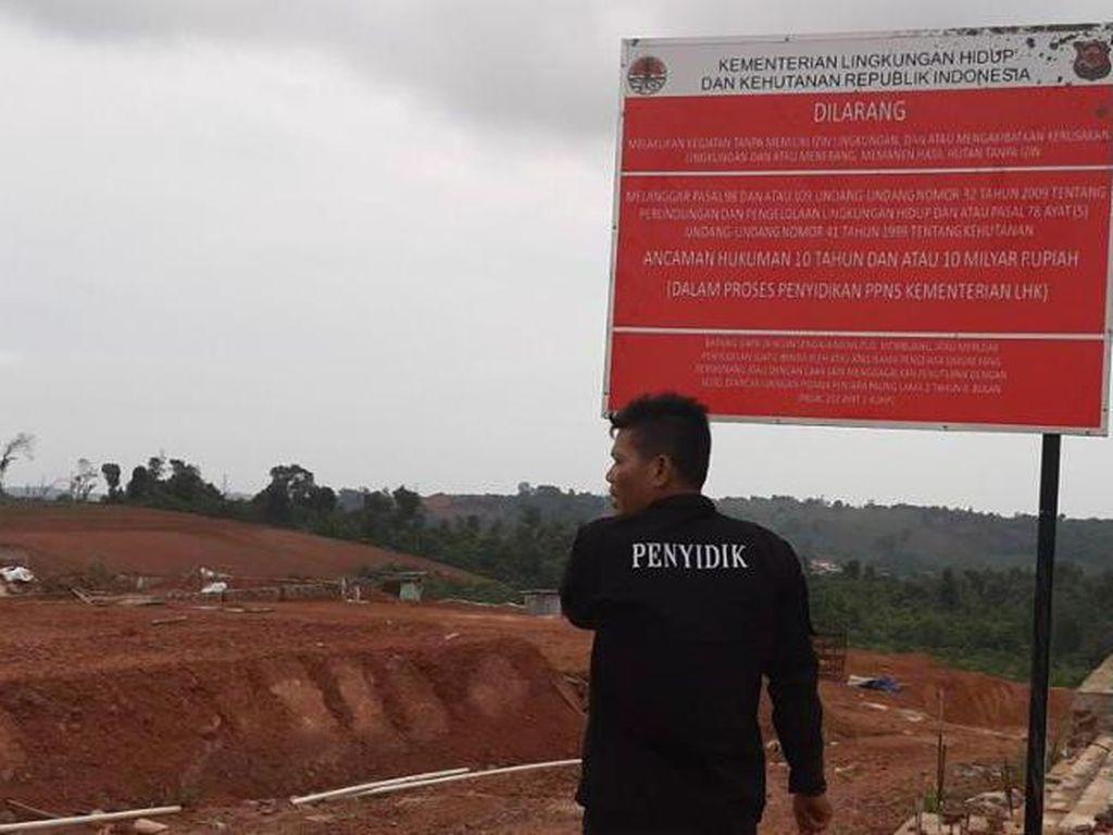 Rusak Hutan Lindung di Batam Jadi Perumahan, Bos-Korporasi Jadi Tersangka