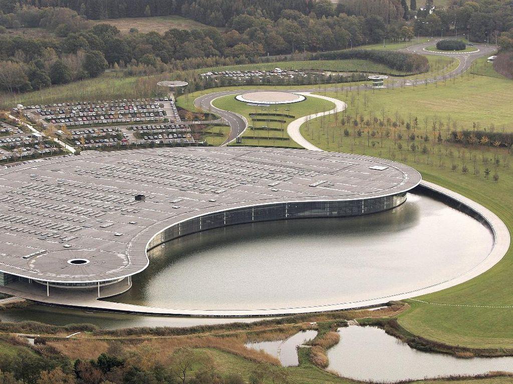 Melihat Mewahnya Kantor dan Markas McLaren yang Dijual Rp 3,3 Triliun