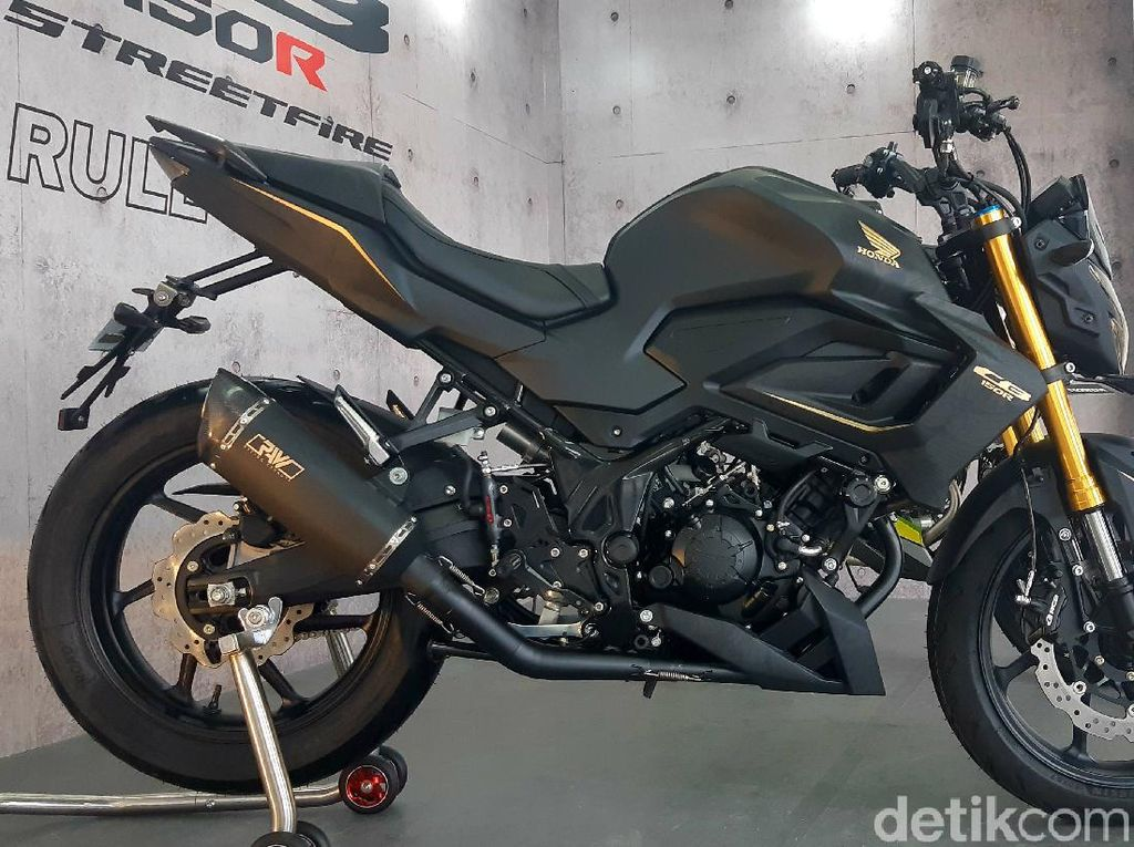 Angker! Honda CB150R Lebih Padat, Pakai Swingarm Milik CBR250RR