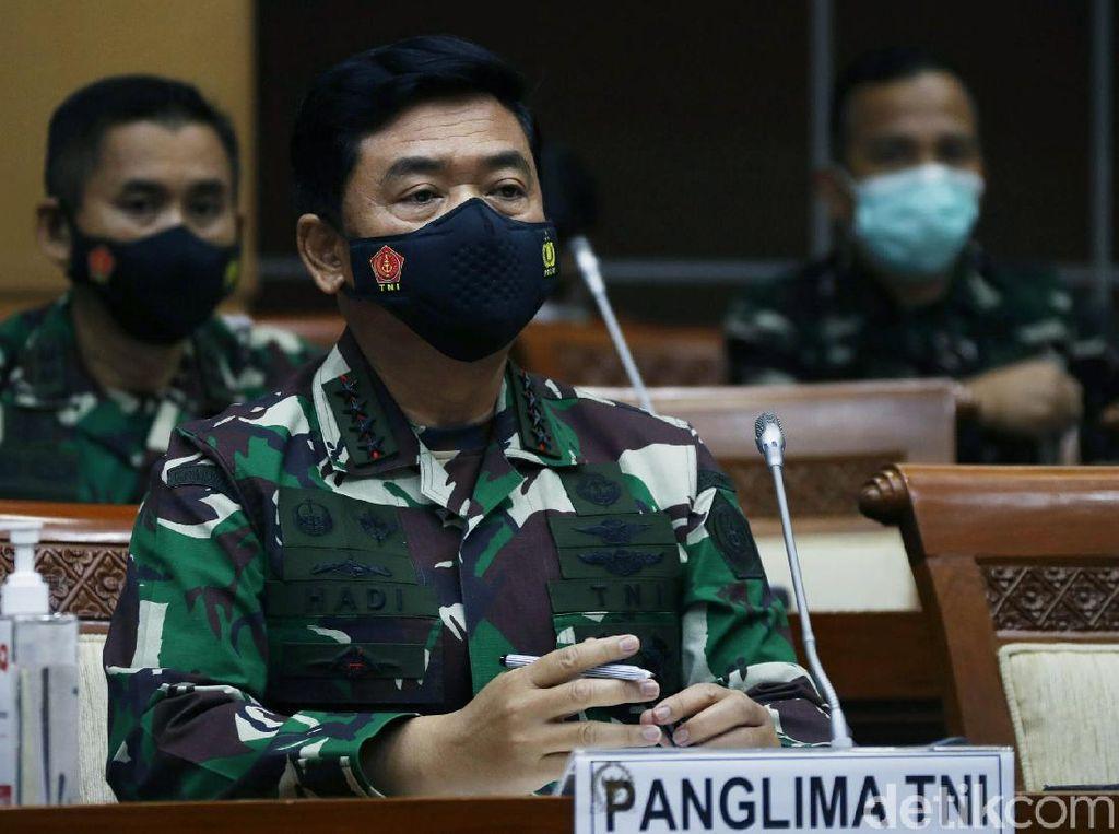 Panglima TNI Curhat Evaluasi Alutsista di DPR