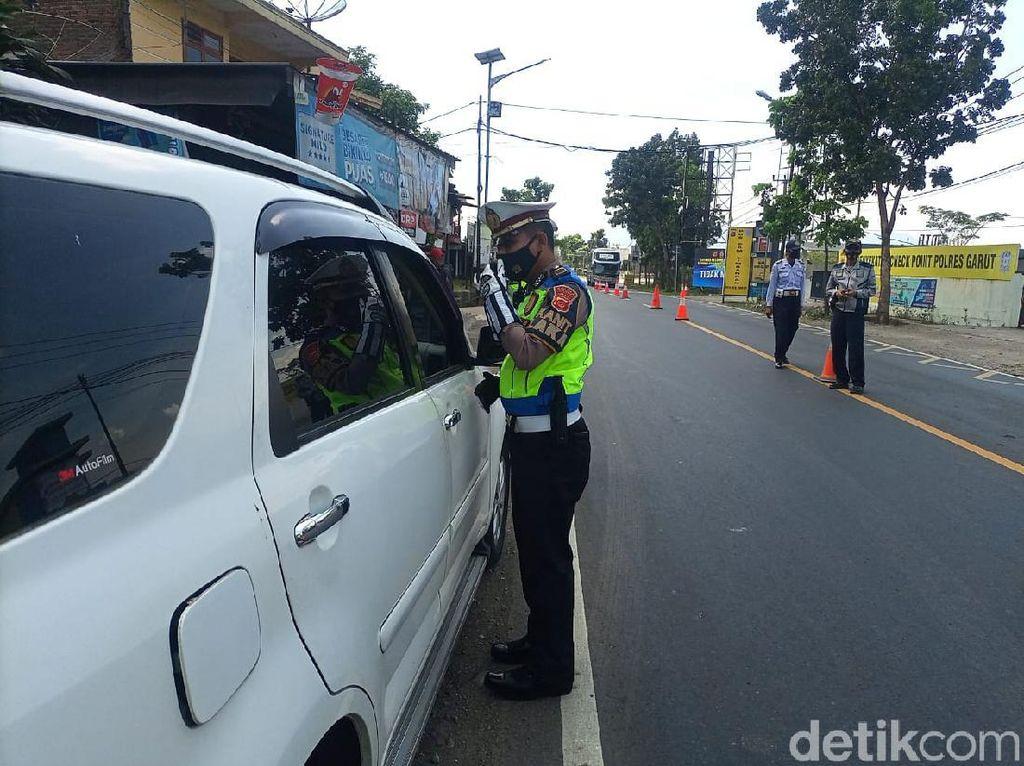 Akses Garut Disekat, Polisi: Pemudik Masih Nekat Jalan