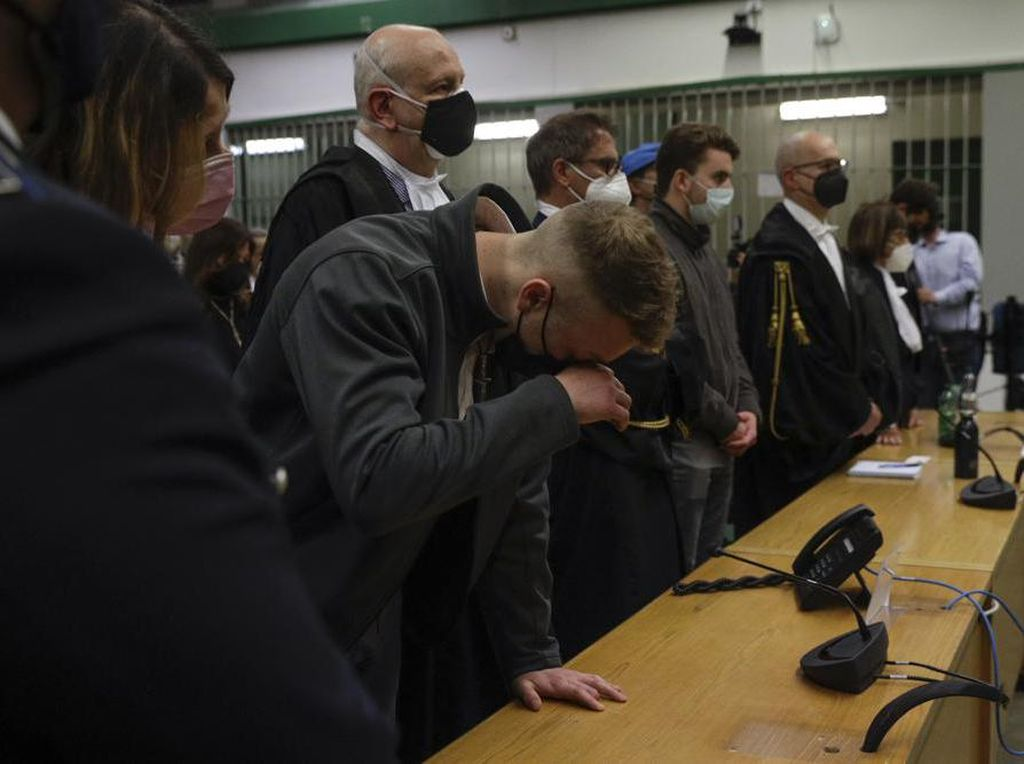 Bunuh Polisi Italia, 2 Turis AS Dibui Seumur Hidup