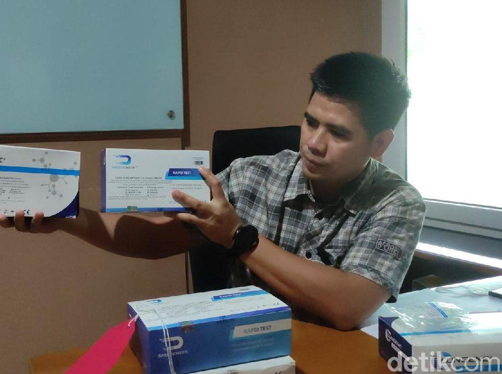 7 Fakta Terungkapnya Alat Rapid Test Ilegal di Jateng Beromzet Rp 2,8 M