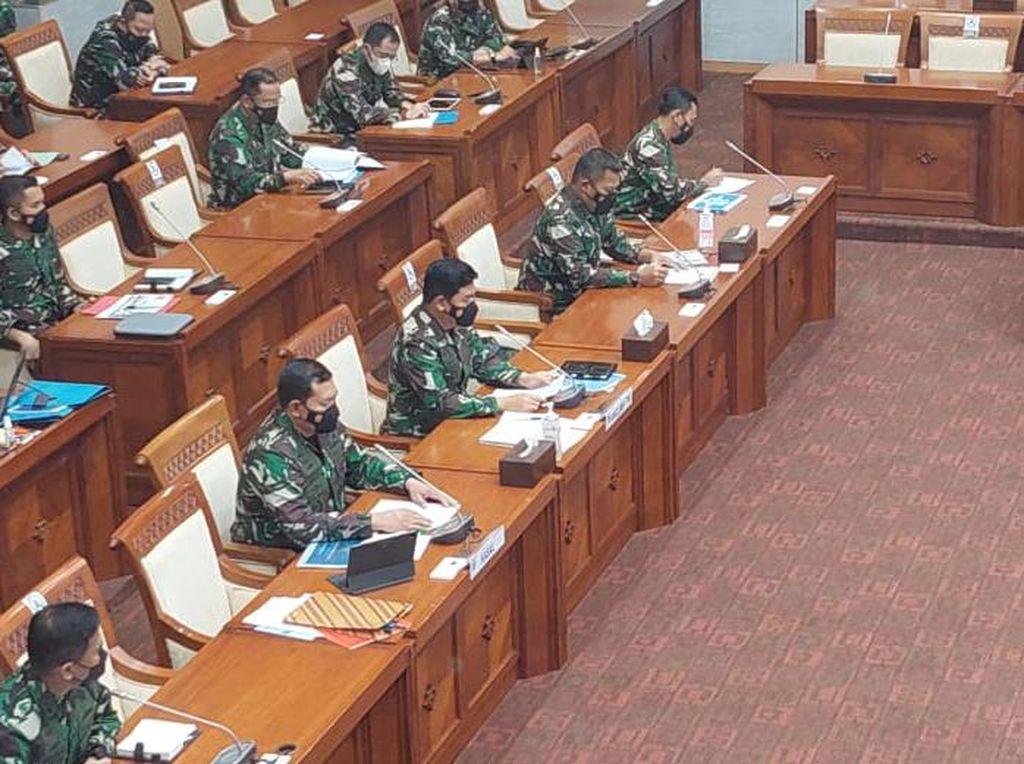 Rapat Komisi I DPR-Panglima TNI Tertutup Saat Bahas Alutsista