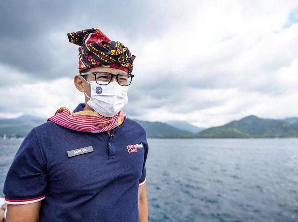 Sandiaga Uno Janji Tingkatkan Dana Hibah Pariwisata Untuk NTB