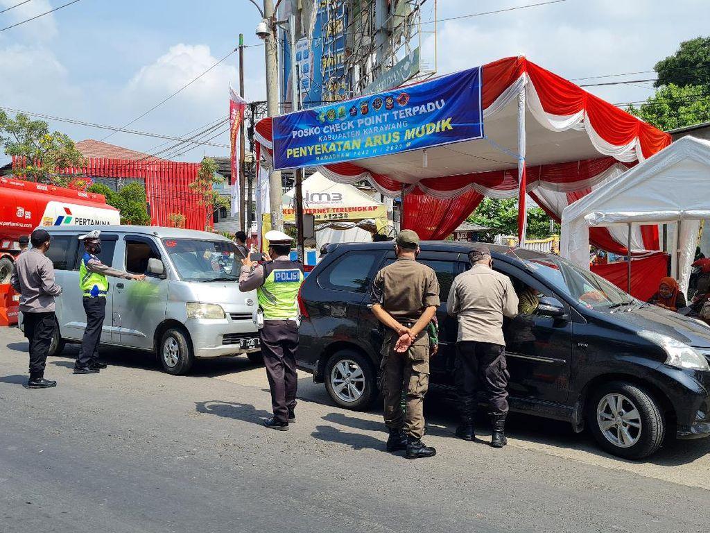 Mudik Lewat Pantura Via Arteri Akan Diputar Balik di Simpang Mutiara Karawang