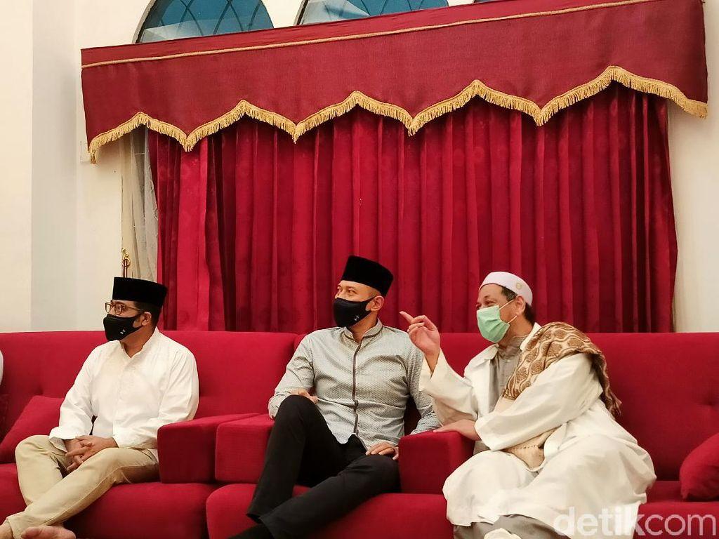 Safari Ramadhan, AHY Temui Habib Ali di Kwitang