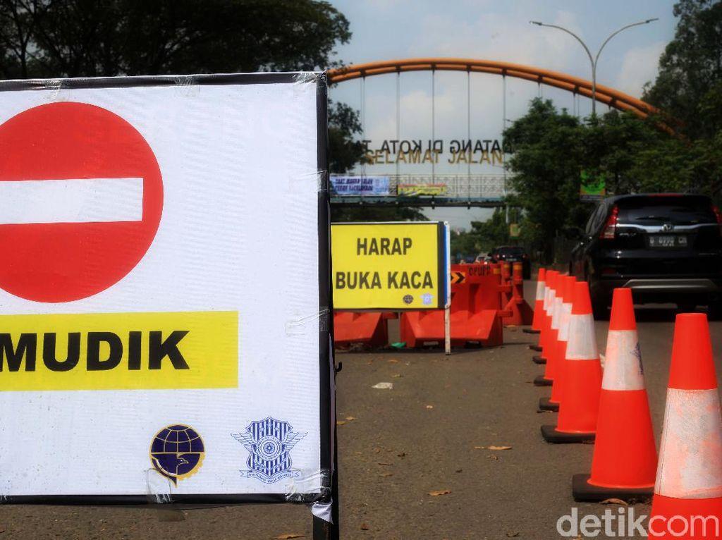 Antisipasi Pemudik Lokal di Kota Tangerang