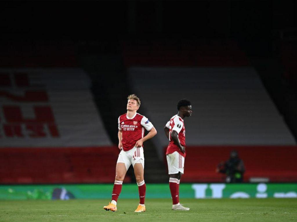 Arsenal Gagal ke Final Liga Europa gara-gara Badai Cedera?
