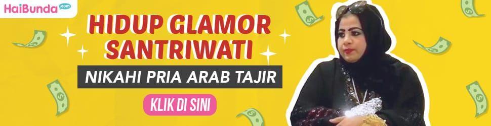 Banner Santriwati Dinikahi Miliuner Arab