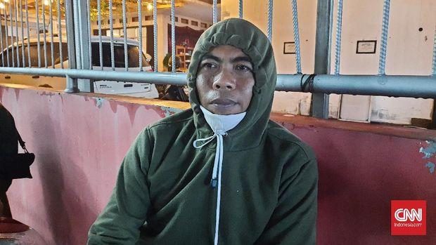 Sugeng (37) yang dua tabub berturut-turt tidak bisa mudik ke Boyolali khawatir ketidakhadiran di momen lebaran menjadi hal biasa di keluarganya, Kamis (6/5).