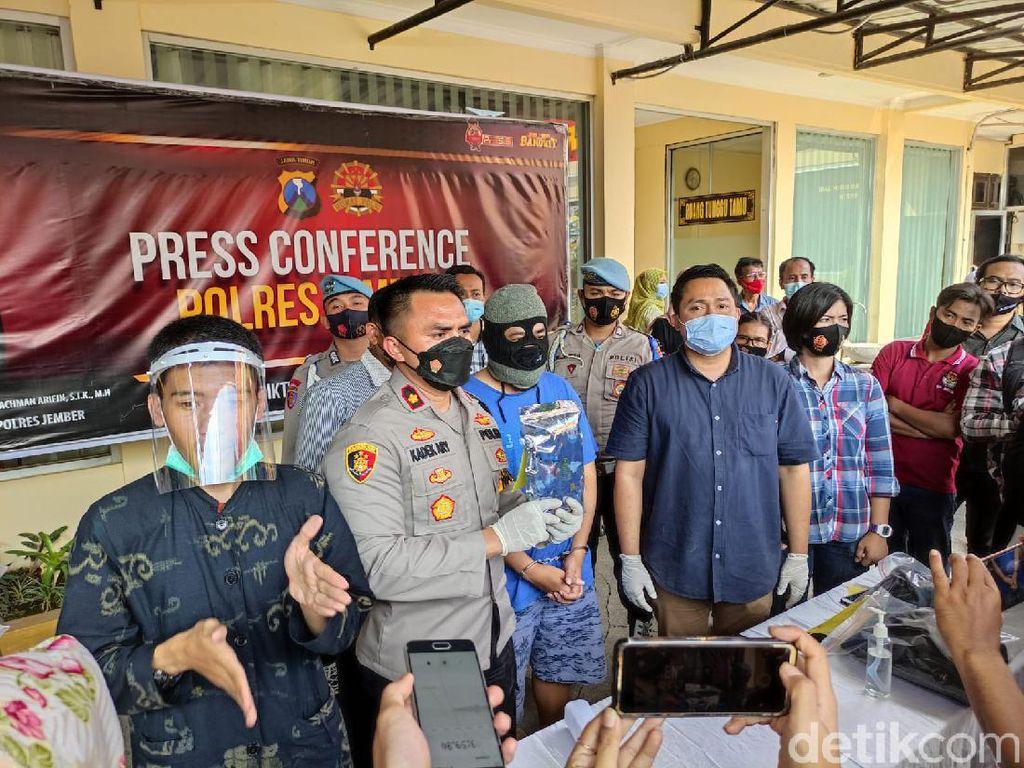 Polisi Akhirnya Tahan Dosen Universitas Jember Tersangka Pencabulan
