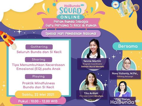 HaiBunda Squad Online Mei 2021