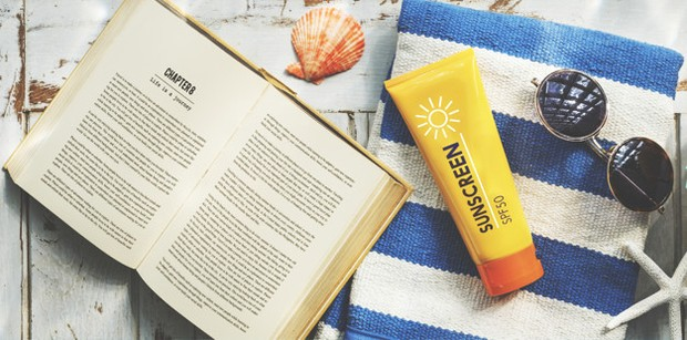 Ilustrasi sunscreen