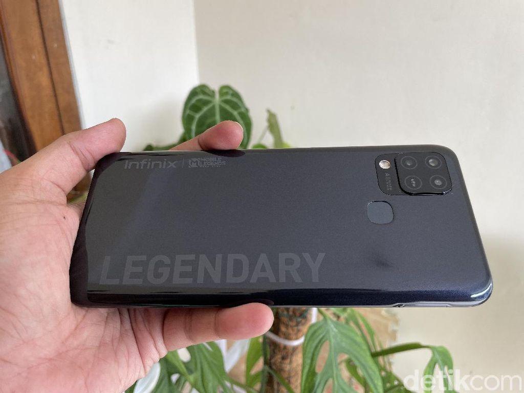 Infinix Hot 10S, Rekomendasi HP Murah untuk Main Mobile Legends
