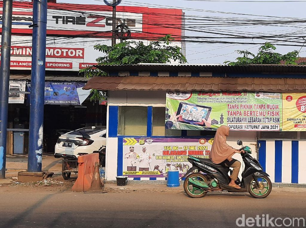 Jalur Tikus di Jalan Raya Narogong Bekasi Perbatasan Bogor Tak Disekat