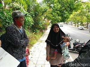 Tiba di Bandung, Sekeluarga Mudik Jalan Kaki dari Gombong Dikarantina
