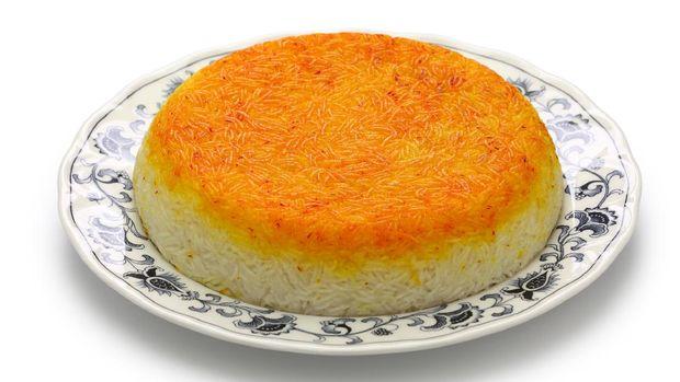 tahdig, persian rice, iranian food