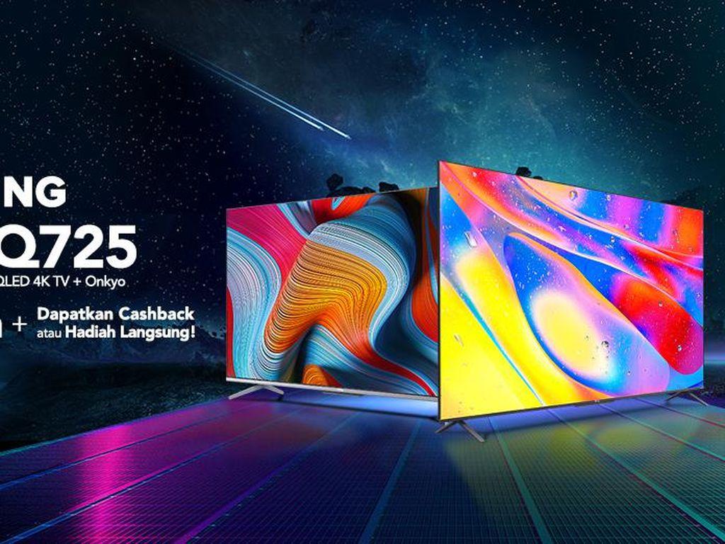 Usung Dolby Vision & Atmos, TV TCL P725 dan Q725 Menjadi Jagoan