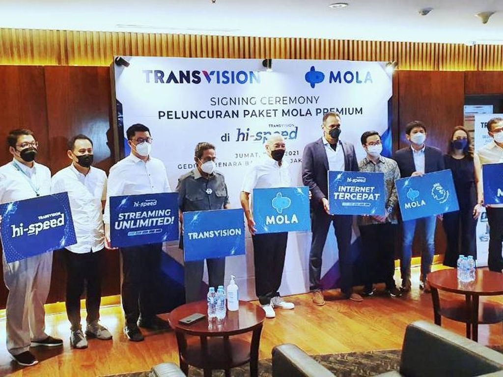 Kolaborasi Transvision-Mola Hadirkan Tayangan Liga Inggris & Piala Eropa