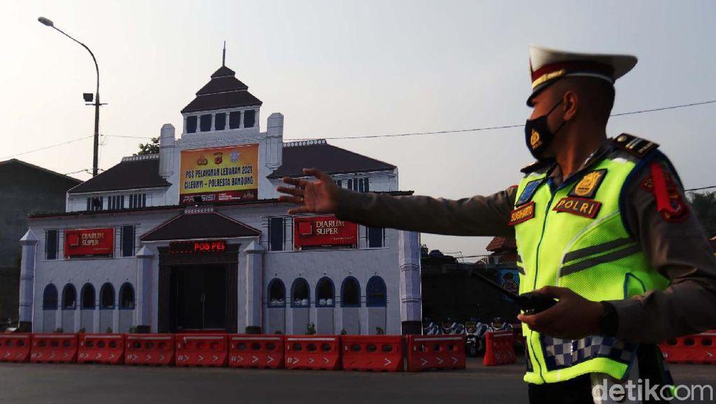 Unik! Pos Polisi di Bandung Ini Berbentuk Gedung Sate