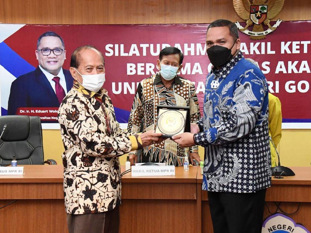 Silaturahmi ke UNG, Syarief Hasan Serap Pendapat Akademisi soal GBHN