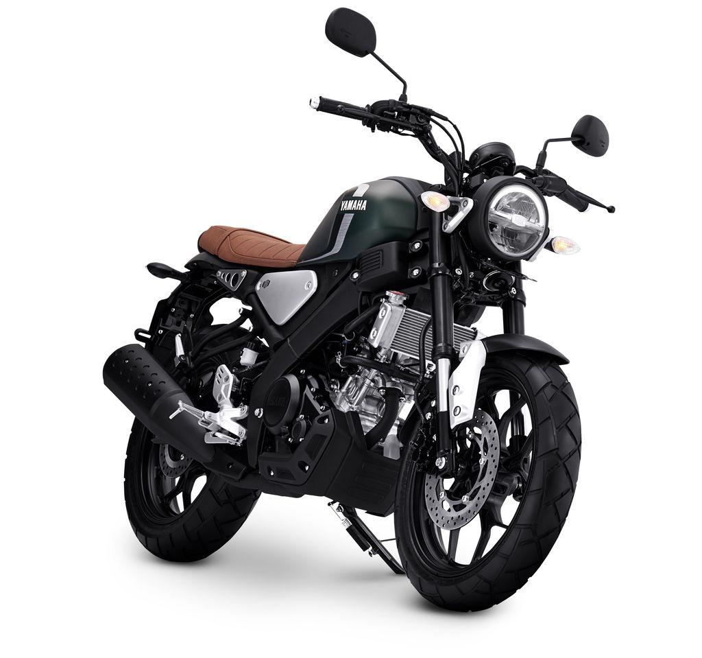 Yamaha meluncurkan warna baru XSR 155, Matte Green, Jumat (7/5).