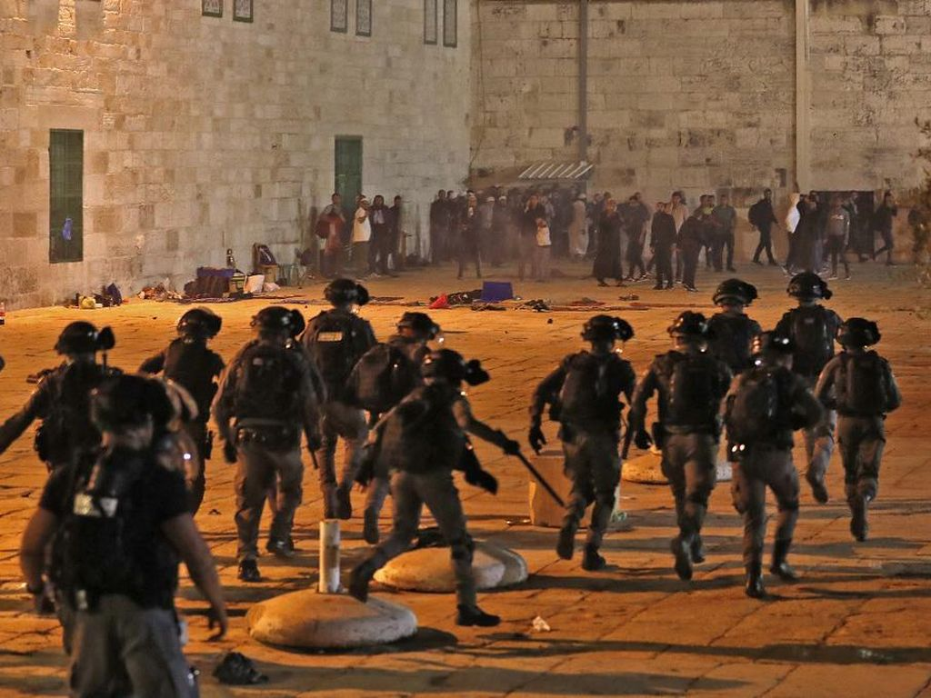 Rusia Kecam Aksi Polisi Israel, Minta Kekerasan di Al-Aqsa Dihentikan