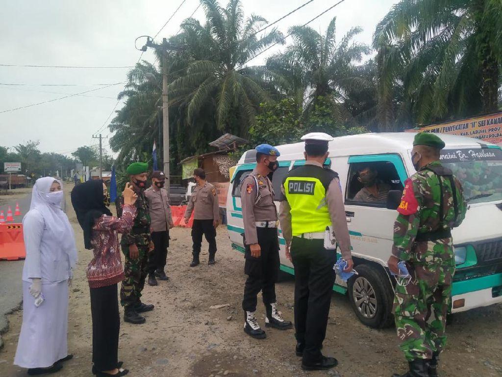 349 Kendaraan Pemudik Diputar Balik di Sumut, Terbanyak Mau ke Aceh-Riau