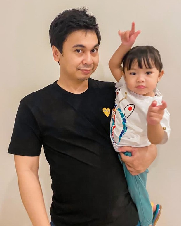 Raditya Dika dan sang putri