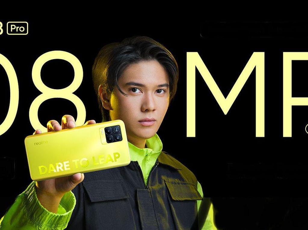Ini Spesifikasi dan Harga Realme 8 Pro Illuminating Yellow di Indonesia