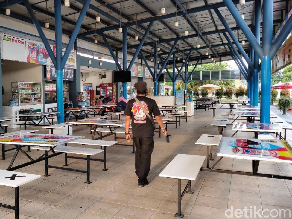 Mudik Dilarang, Rest Area Cipali Sepi-Pedagang Merugi