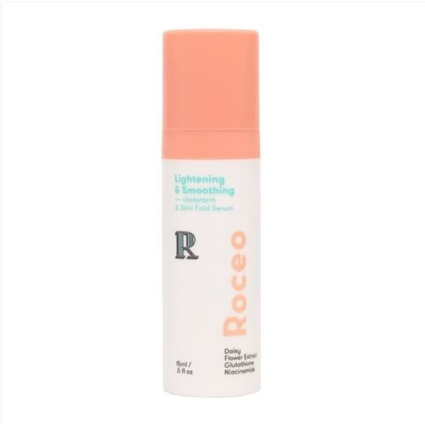 Roceo Lightening and Smoothing Underarm & Skin Fold Serum (sumber : lazada.co.id/enyongshopid)