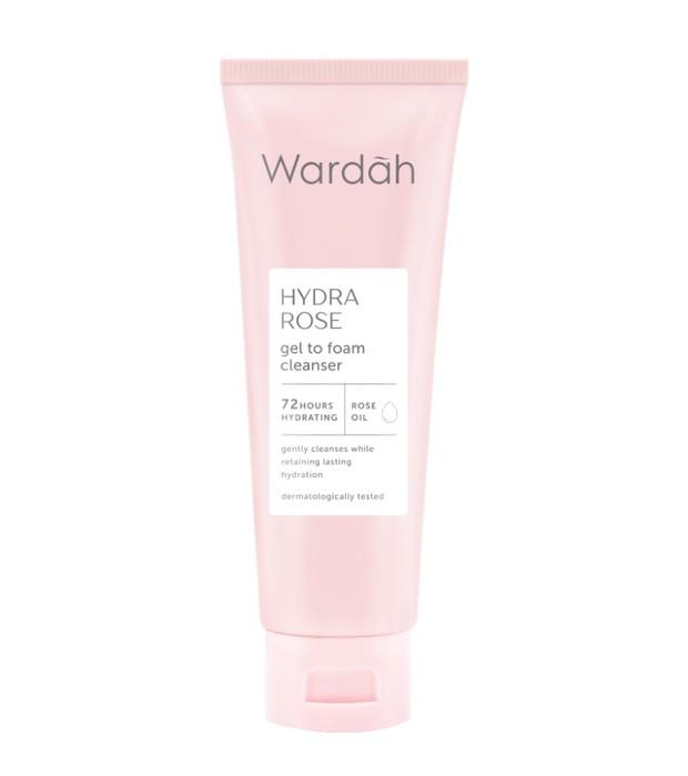 Wardah Hydra Rose Gel to Foam Cleanser