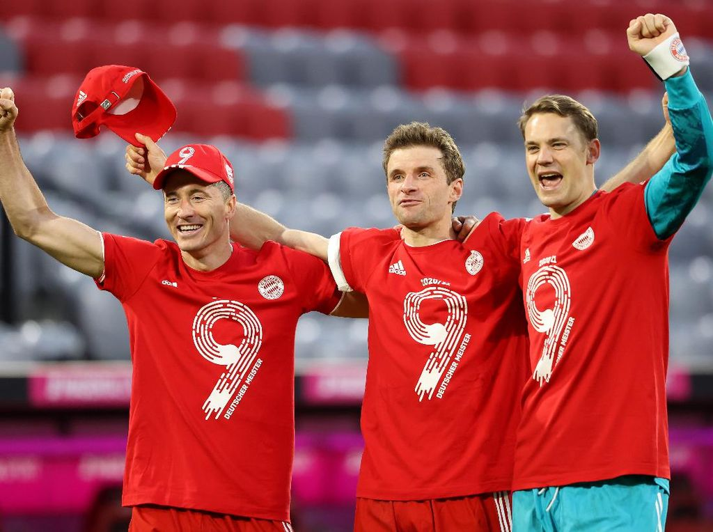 Bayern Vs Gladbach: Die Roten Rayakan Juara dengan Pesta Enam Gol