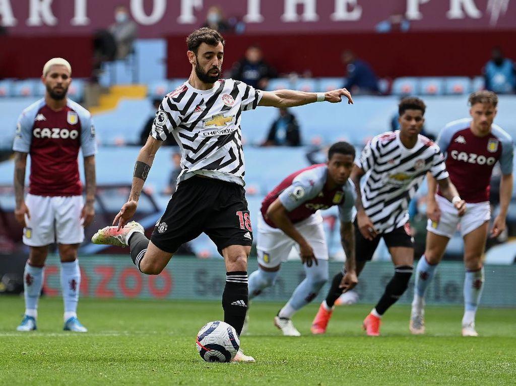 Top! Bruno Fernandes Pecahkan Rekor Gol... Penalti