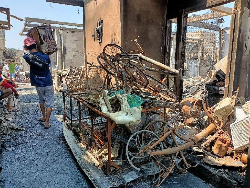 Cerita Warga Korban Kebakaran di Kapuk Muara Jakut