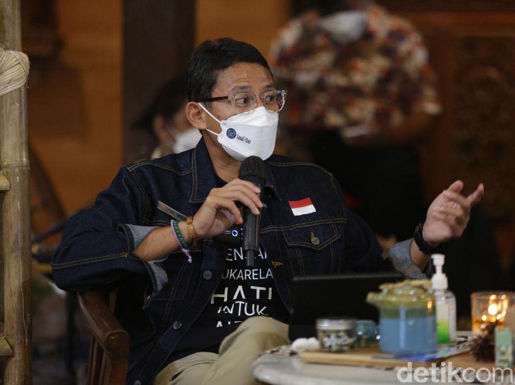 Sandiaga Bilang Ruang Kantor Harus Ramah Teknologi Demi Lawan Pandemi