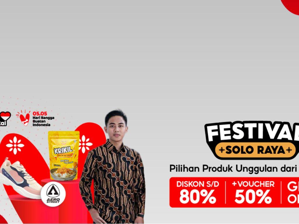 Shopee Gelar Festival Solo Raya, Ada Diskon 80% dan Voucher 50%