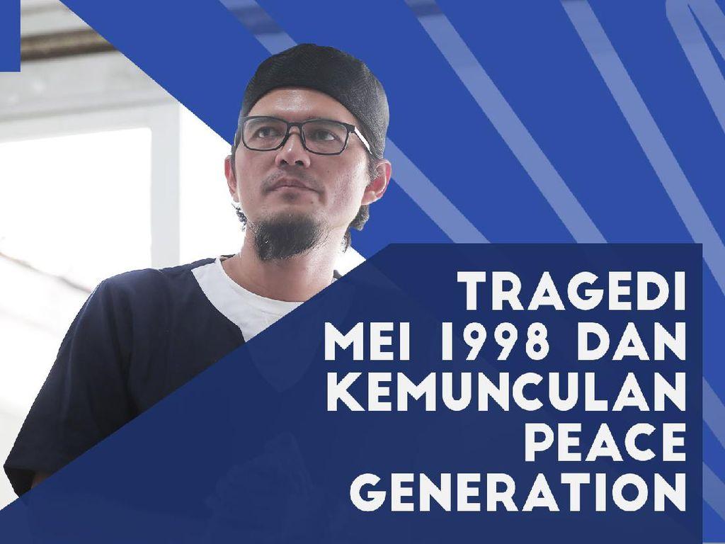 Irfan Amalee, Tragedi Mei 98 dan Kemunculan Peace Generation