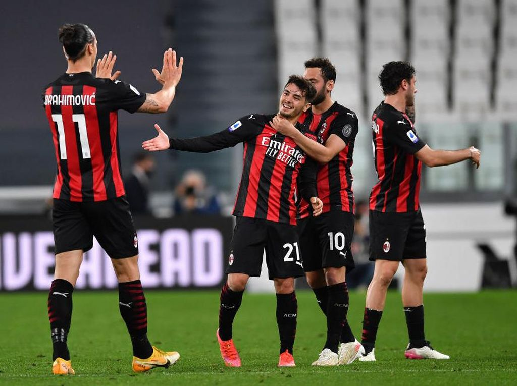 AC Milan Pesta Barbeku-an Jelang Laga Penentuan di Akhir Pekan